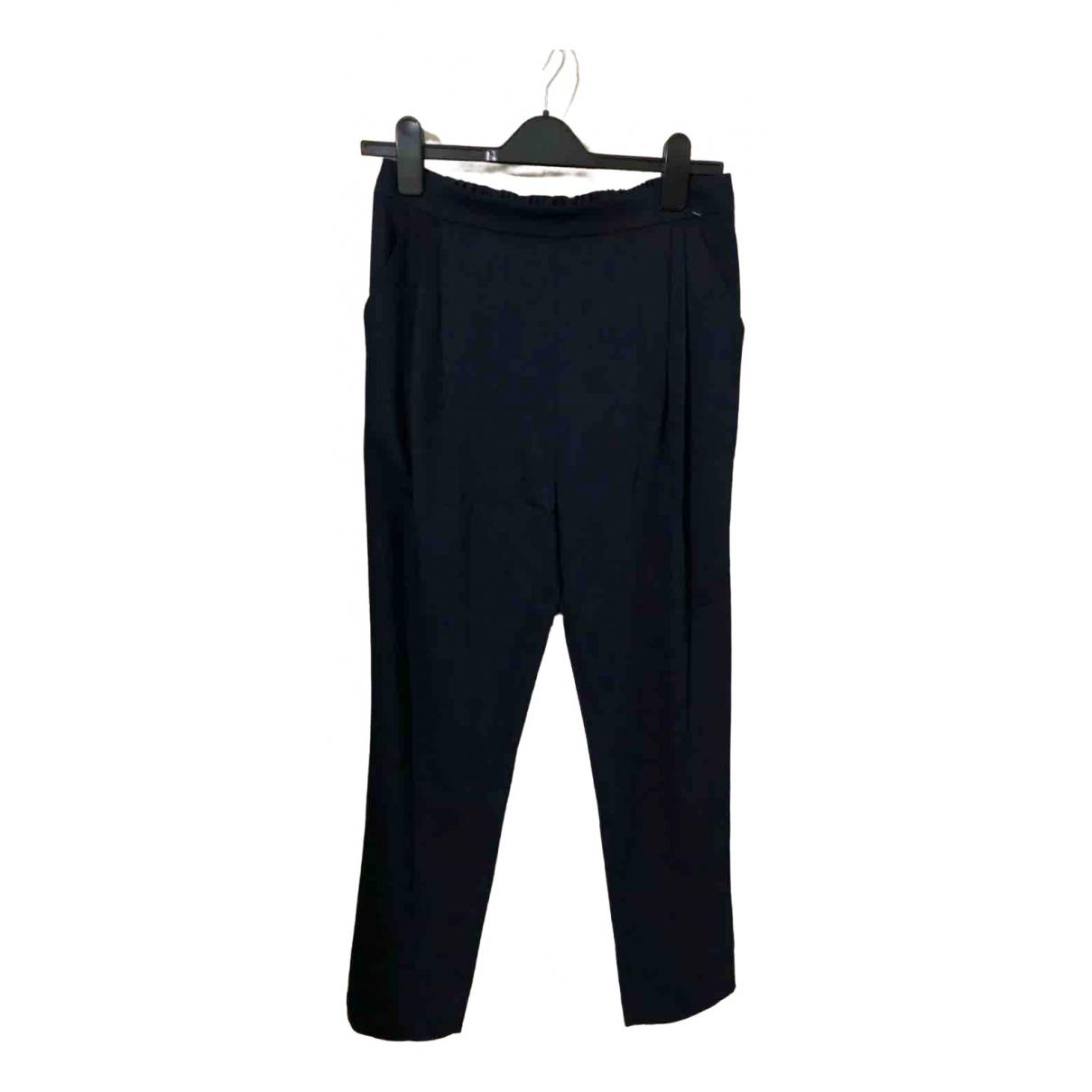 Derek Lam \N Navy Trousers for Women 4 US