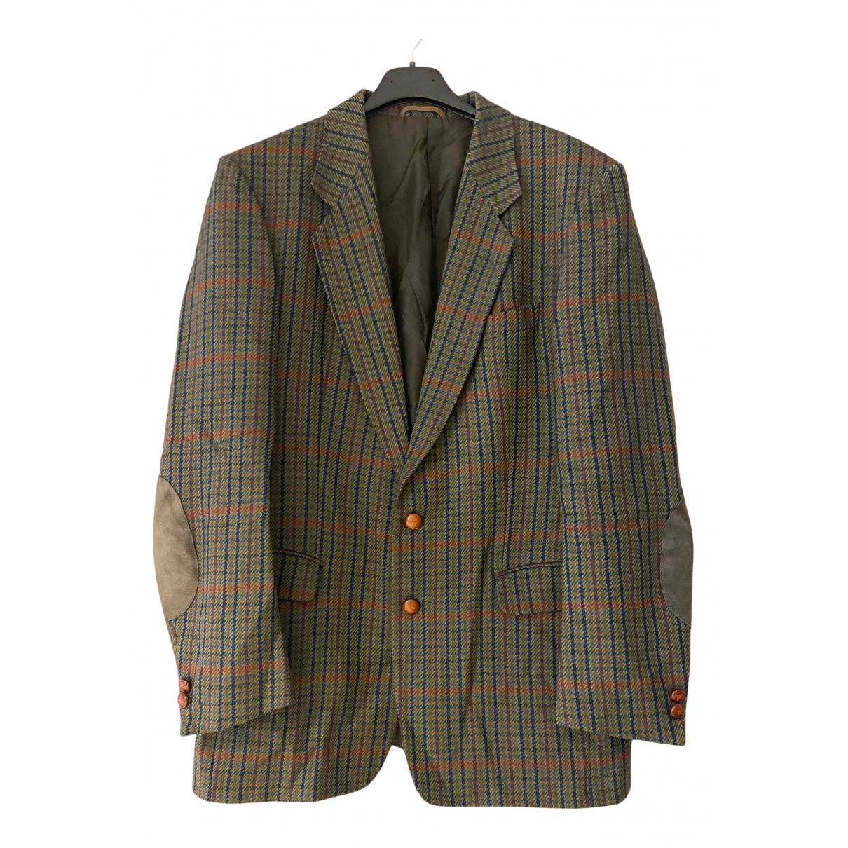 Burberry N Khaki Wool jacket  for Men 50 IT