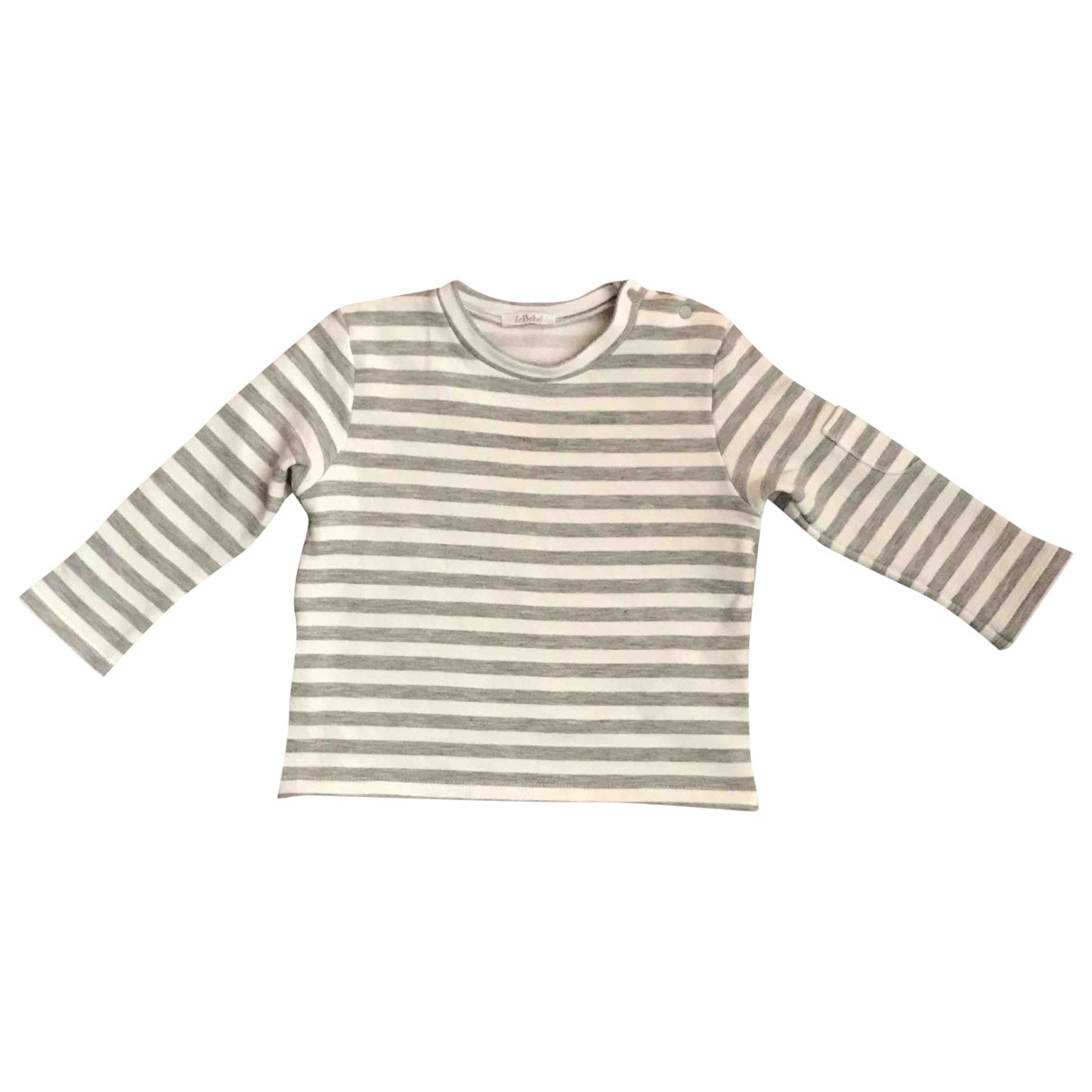 Le Bebe \N White Cotton  top for Kids 9 months - up to 71cm FR