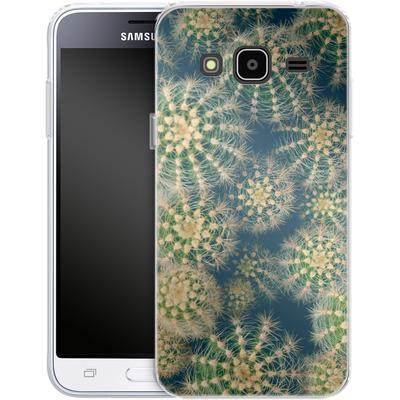 Samsung Galaxy J3 (2016) Silikon Handyhuelle - Kingwood Cactus von Joy StClaire