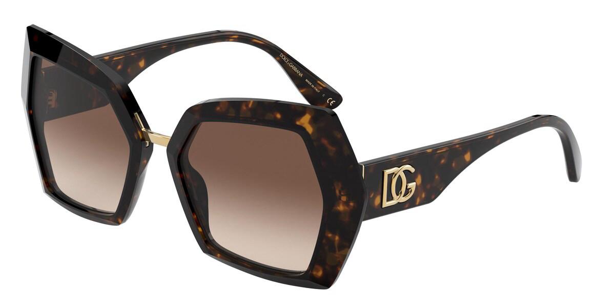 Dolce & Gabbana DG4377F Asian Fit 502/13 Women's Sunglasses Tortoise Size 54