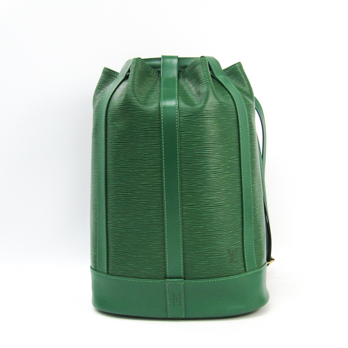 Louis Vuitton Randonnée Green Leather backpack for Women \N