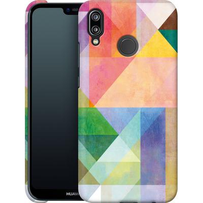 Huawei P20 Lite Smartphone Huelle - Color Blocking 1 von Mareike Bohmer