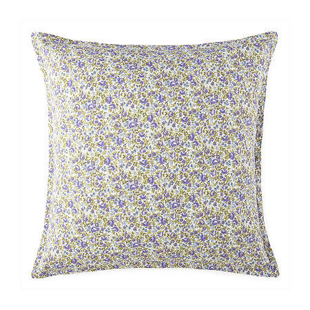 JCPenney Home Kennedy Euro Sham, One Size , Purple