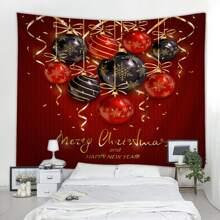 Christmas Bell Print Tapestry