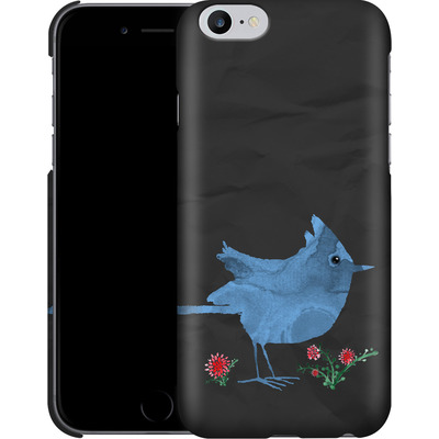 Apple iPhone 6 Plus Smartphone Huelle - Watercolour Bird Black von caseable Designs