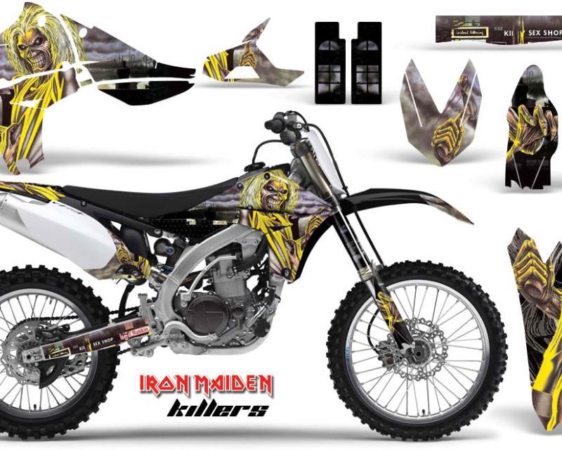 AMR Racing Dirt Bike Graphics Kit Decal Sticker Wrap For Yamaha YZ450F 2010-2013áIM KILLERS