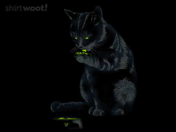 Radioactive Cat T Shirt