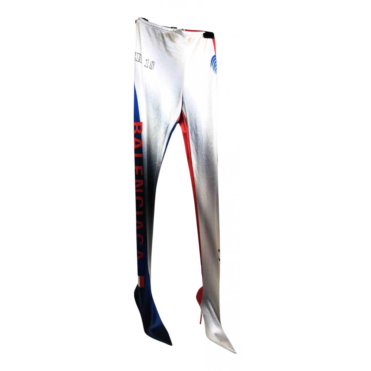 Balenciaga \N Stiefel in  Metallic Polyester