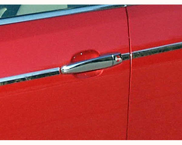 Quality Automotive Accessories ABS | Chrome Door Handle Cover Kit Cadillac STS 2009