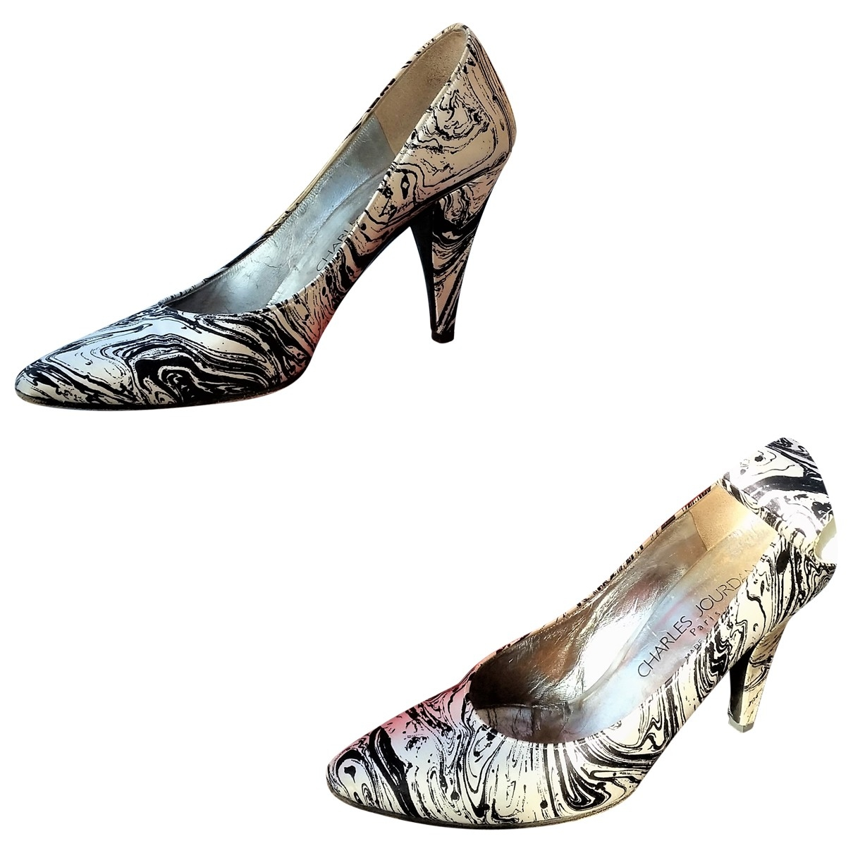 Charles Jourdan \N Multicolour Cloth Heels for Women 6 UK