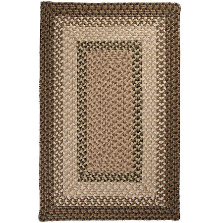 Colonial Mills Sausalito Reversible Braided Indoor/Outdoor Rectangular Rug, One Size , Green