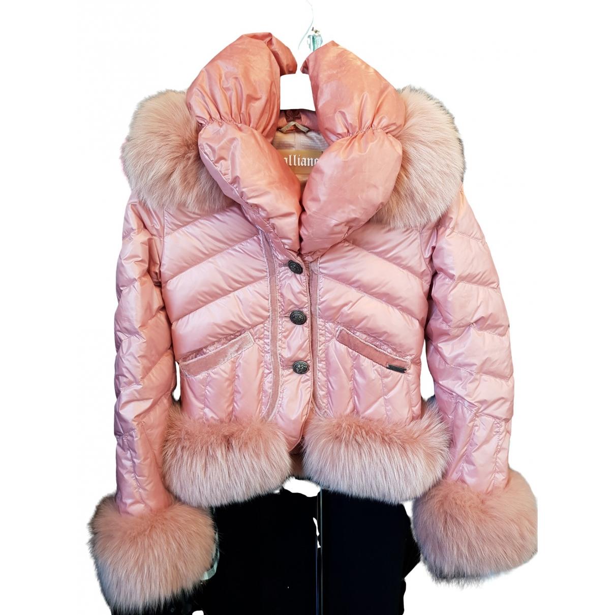 John Galliano \N Pink jacket for Women 38 FR