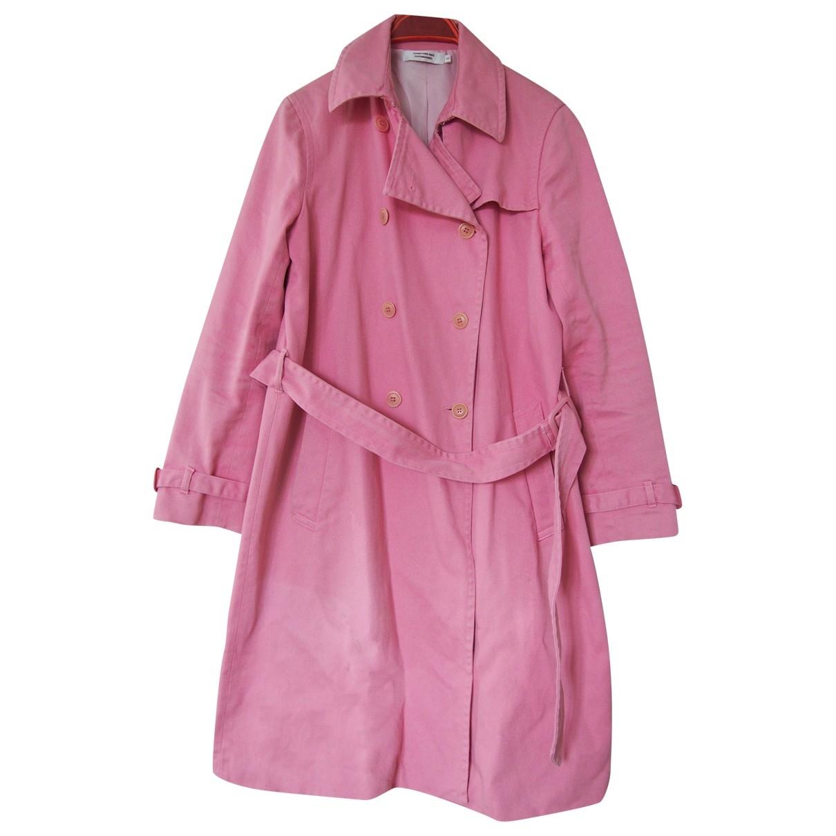Comptoir Des Cotonniers \N Pink Cotton Trench coat for Women 44 FR