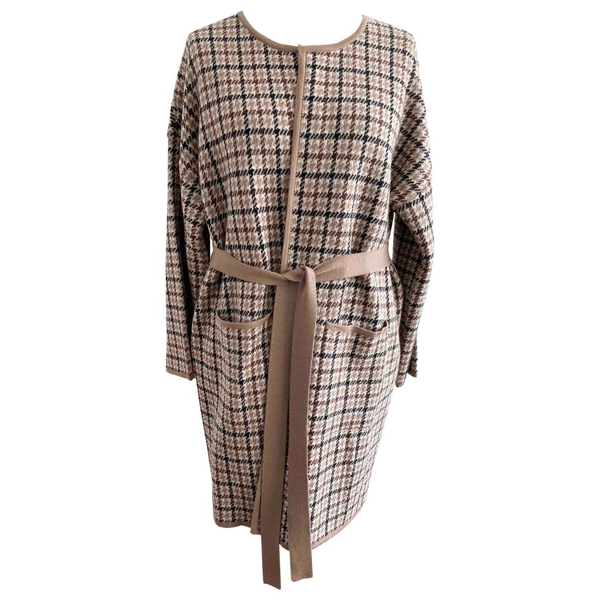 Max Mara Weekend - Pull   pour femme en laine - marron