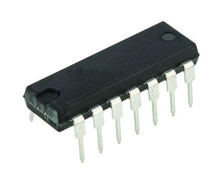 Texas Instruments SN74HCT04NE4, , Hex CMOS Inverter, 14-Pin PDIP (20)