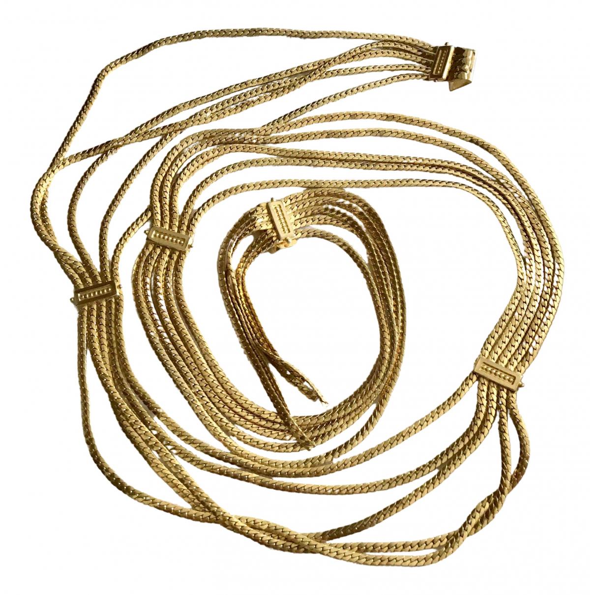 Dior \N Guertel in  Gold Ketten