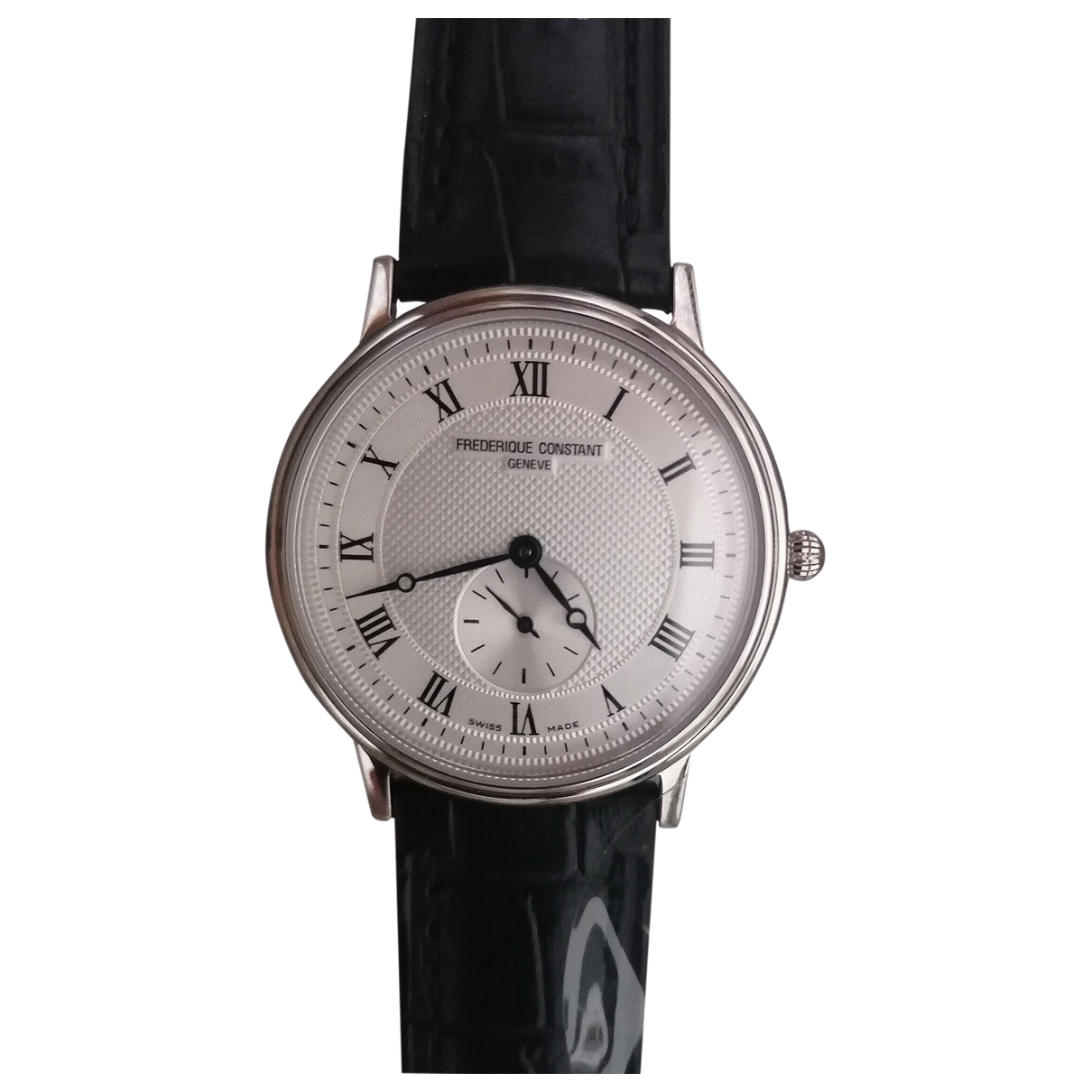 Frederique Constant Classic Uhr in  Silber Stahl