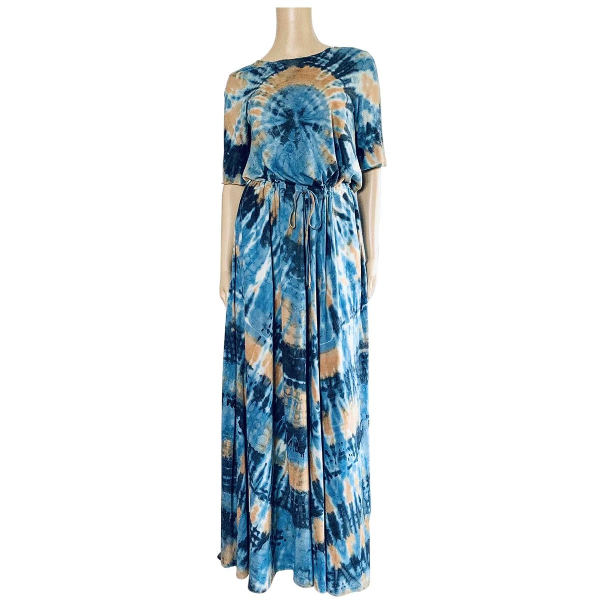 Raquel Allegra - Robe   pour femme en coton - bleu