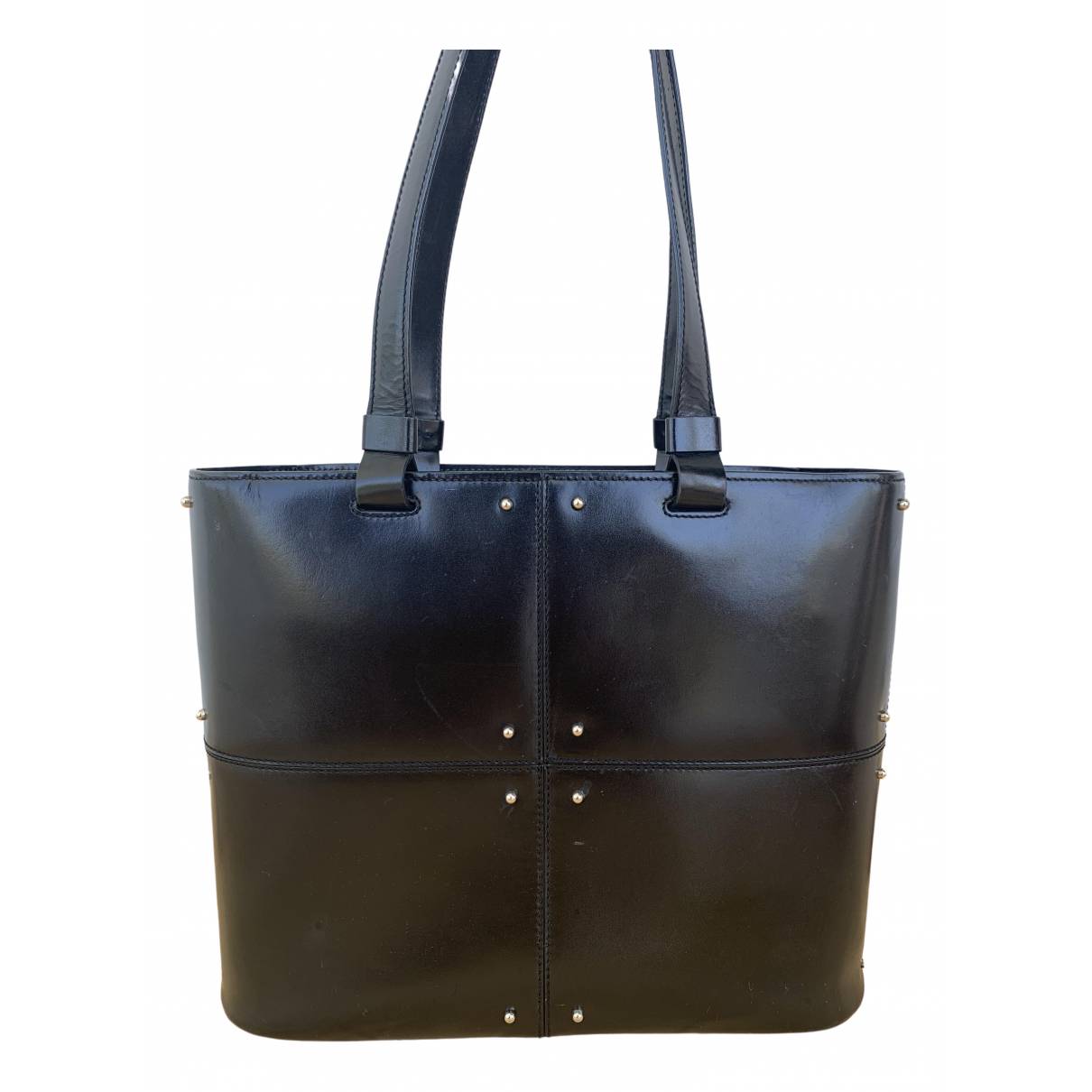 Tods - Sac a main   pour femme en cuir - noir