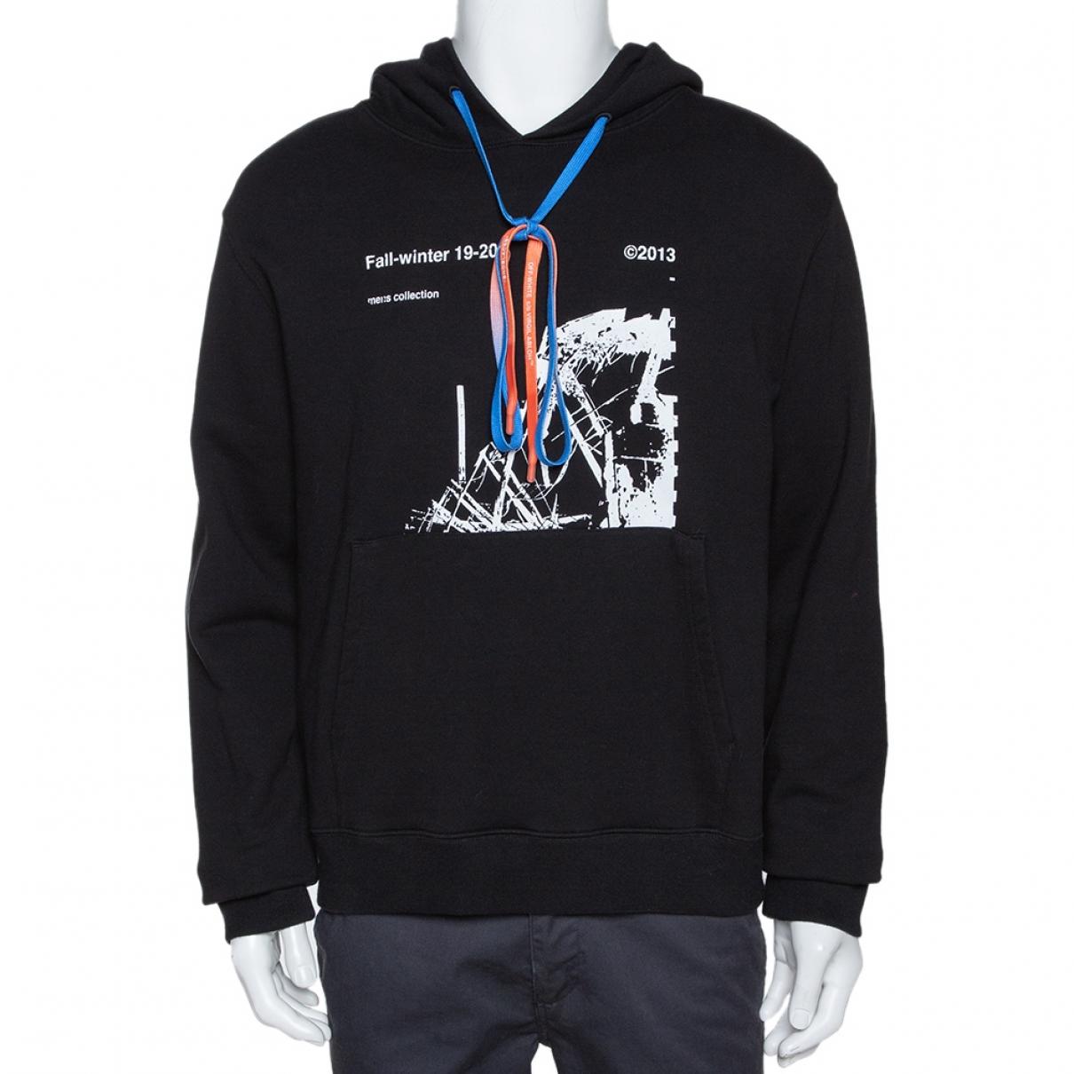 Off-white \N Black Cotton Knitwear & Sweatshirts for Men L International