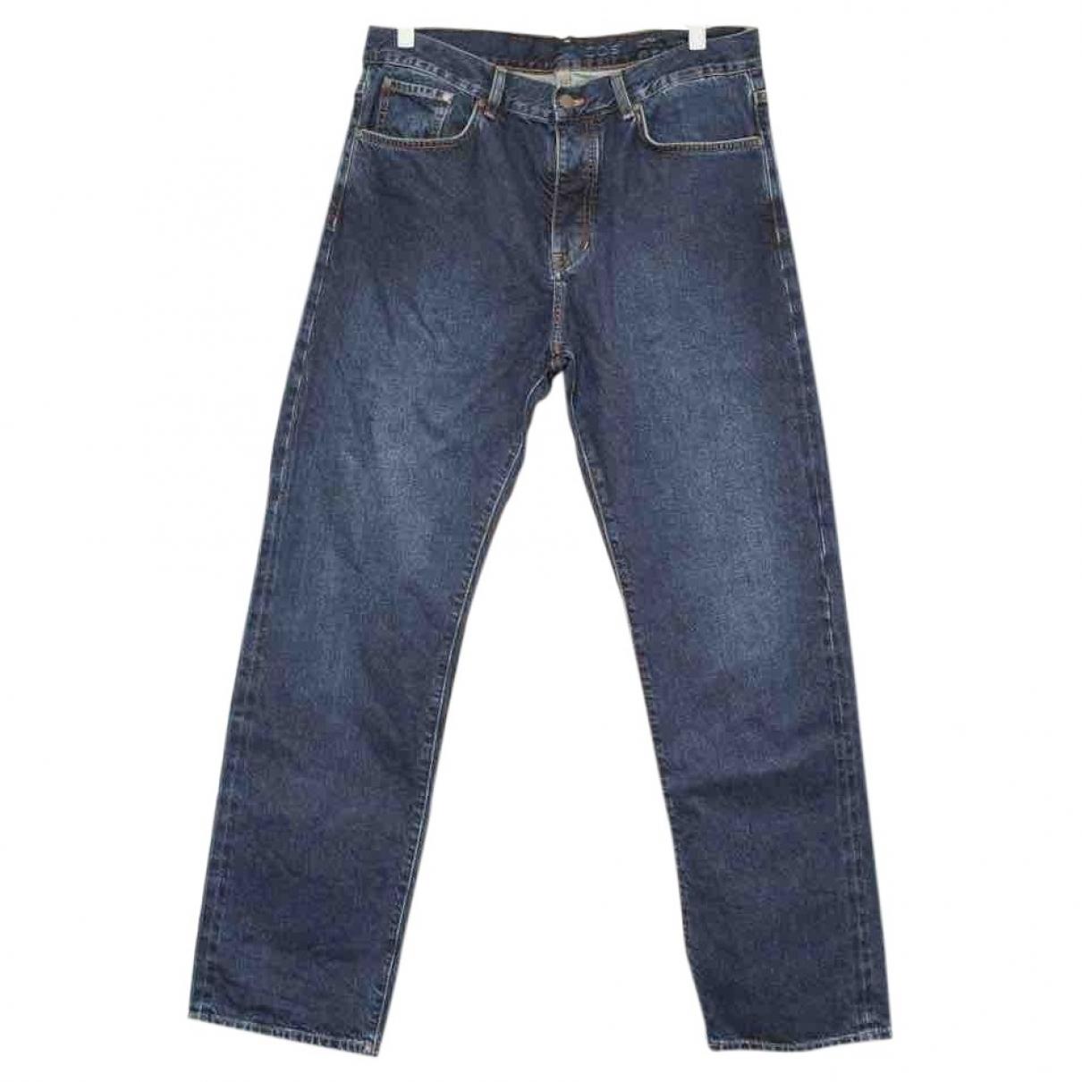 Cos \N Blue Cotton Jeans for Men 33 US