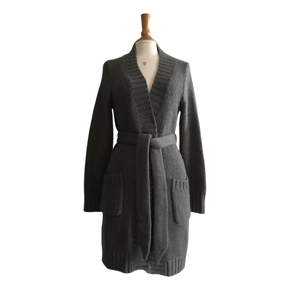 Designers Remix - Pull   pour femme en laine - gris
