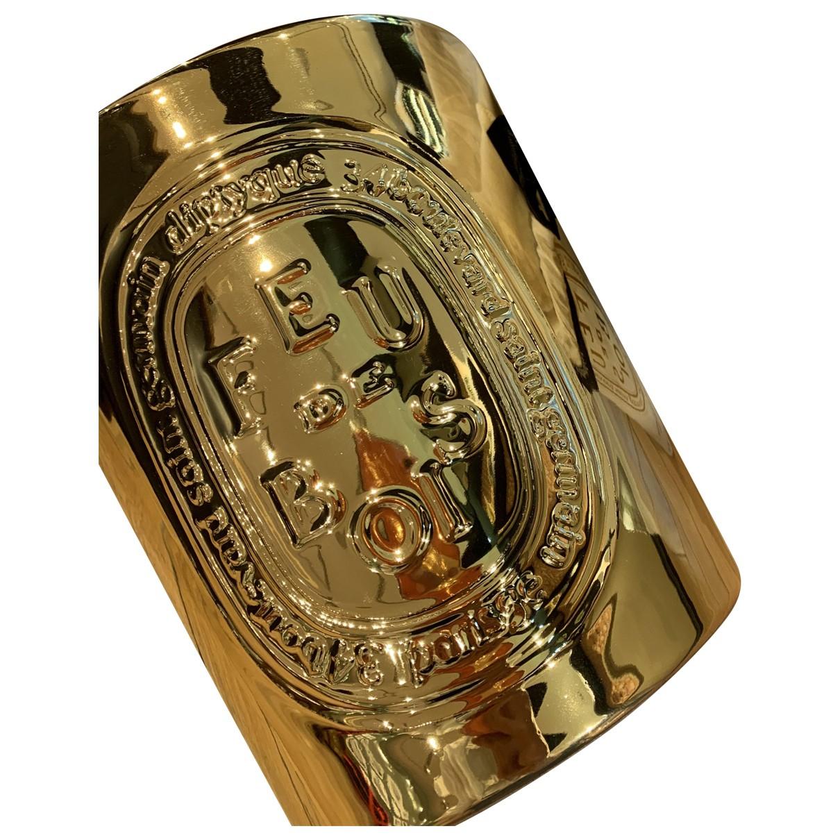 Diptyque \N Accessoires und Dekoration in  Gold Keramik