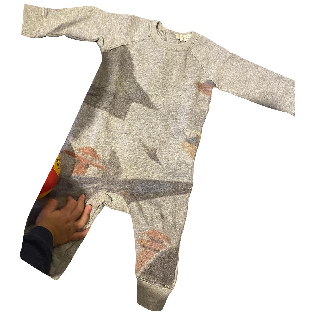 Stella Mccartney Kids - Top   pour enfant en coton - gris