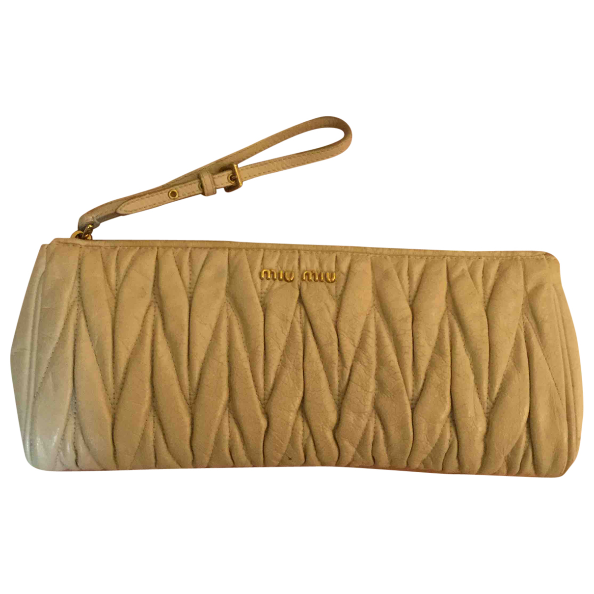 Miu Miu Matelassé Leather Clutch bag for Women N