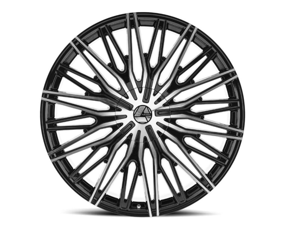 Azara 522 Wheel 20x8.5 5x110|5x114.3 35mm Gloss Black Machined