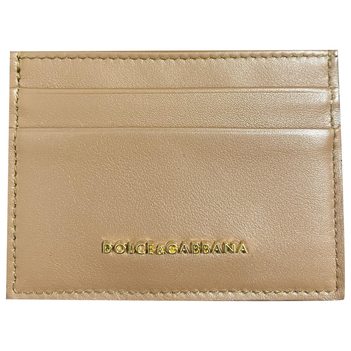 Dolce & Gabbana \N Brown Leather Purses, wallet & cases for Women \N