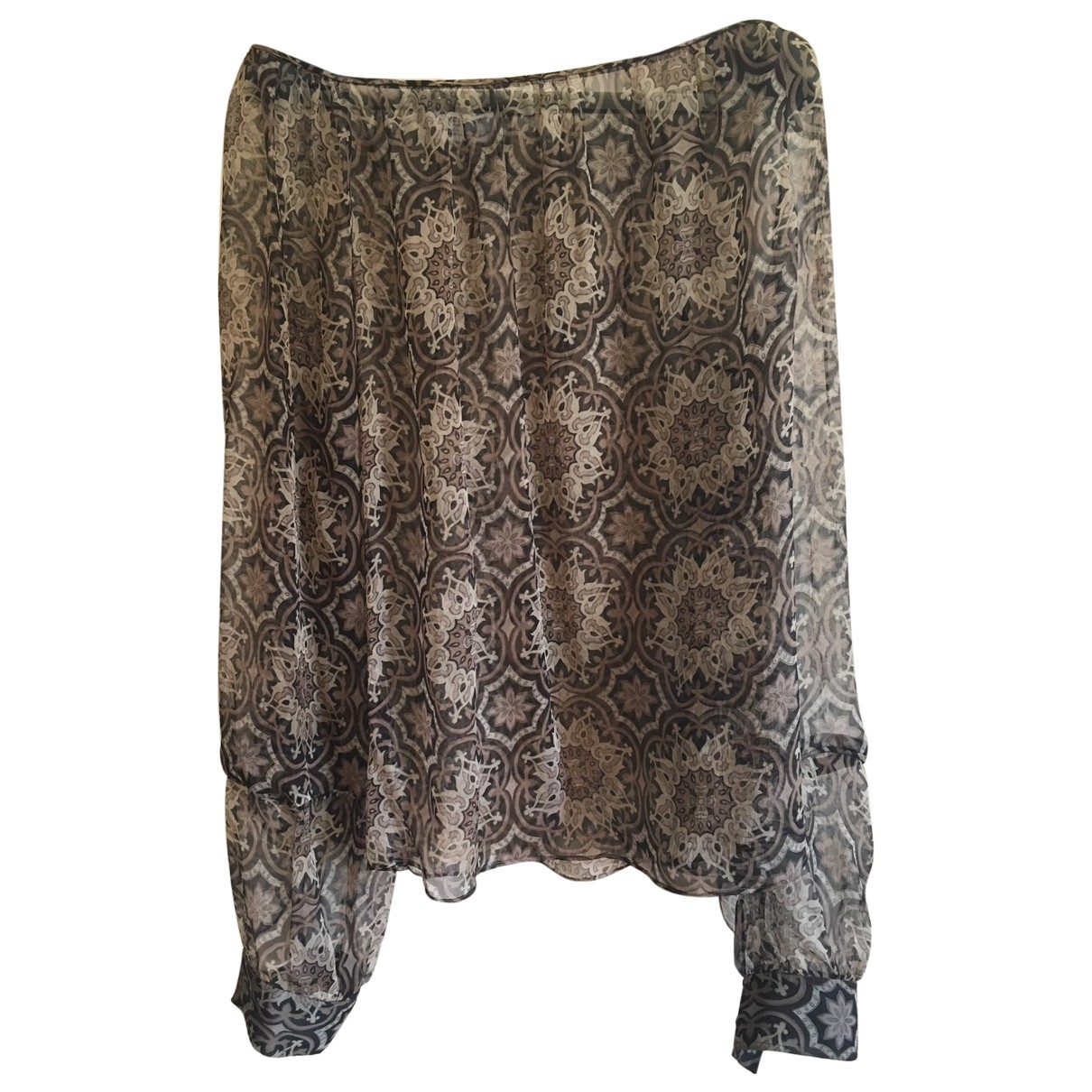 Givenchy - Top   pour femme en soie - multicolore