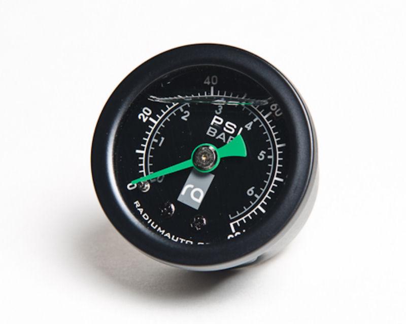 Radium Engineering 20-0029 Fuel Pressure Gauge 0 to 100psi