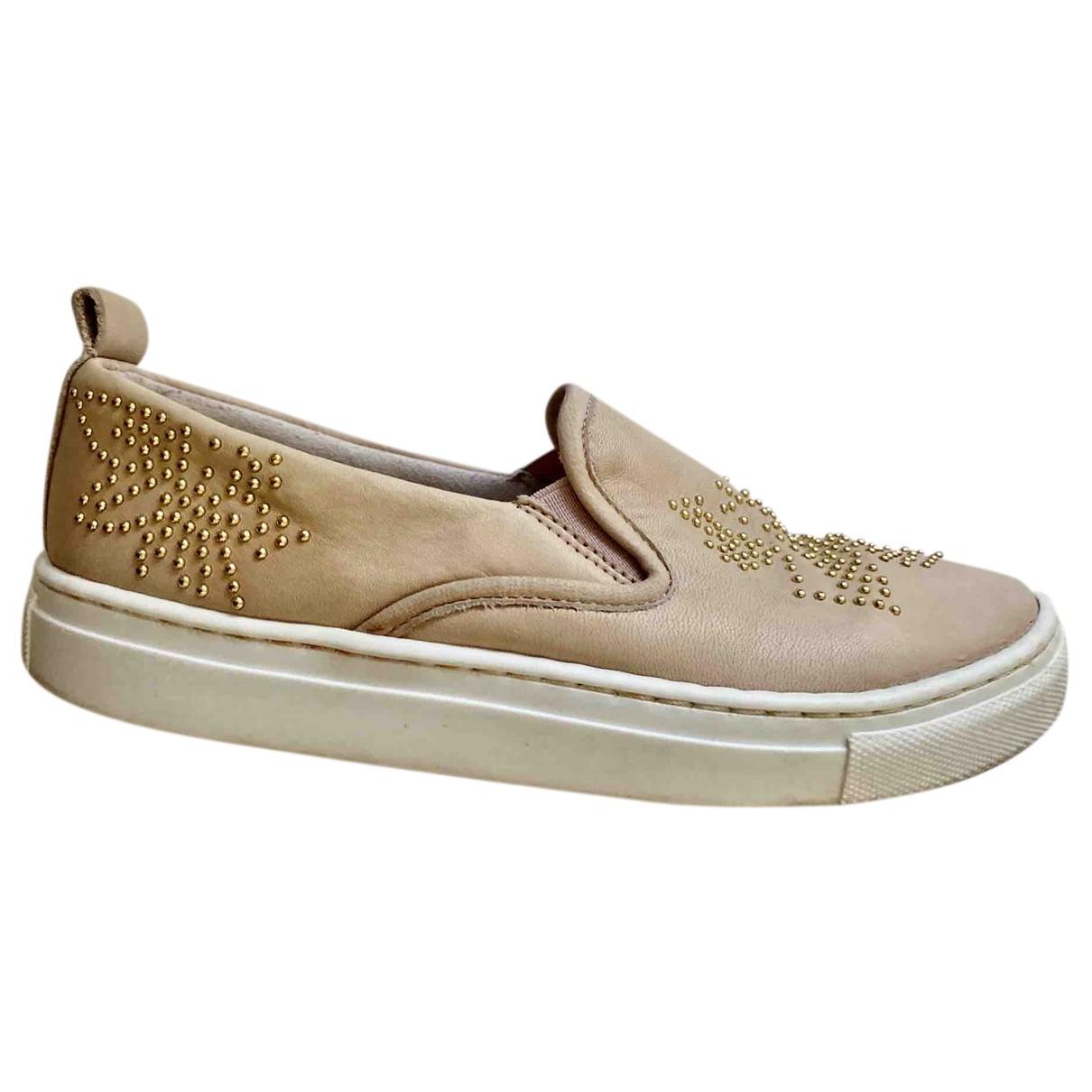 Chloe \N Sneakers in  Rosa Lackleder