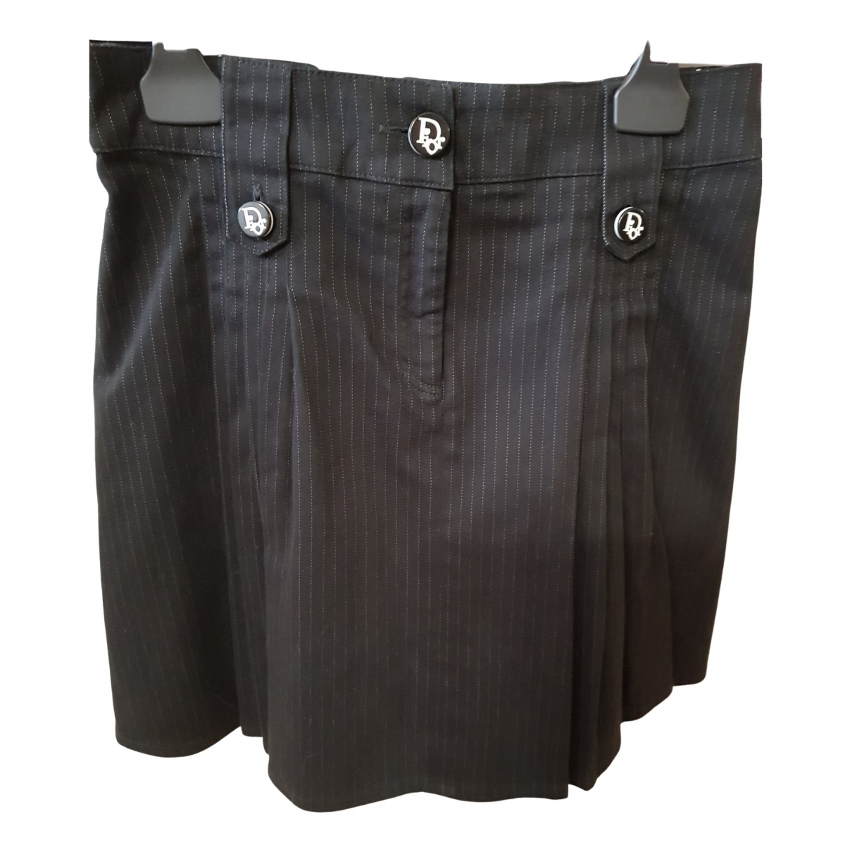 Dior N Black Cotton skirt for Kids 10 years - up to 142cm FR