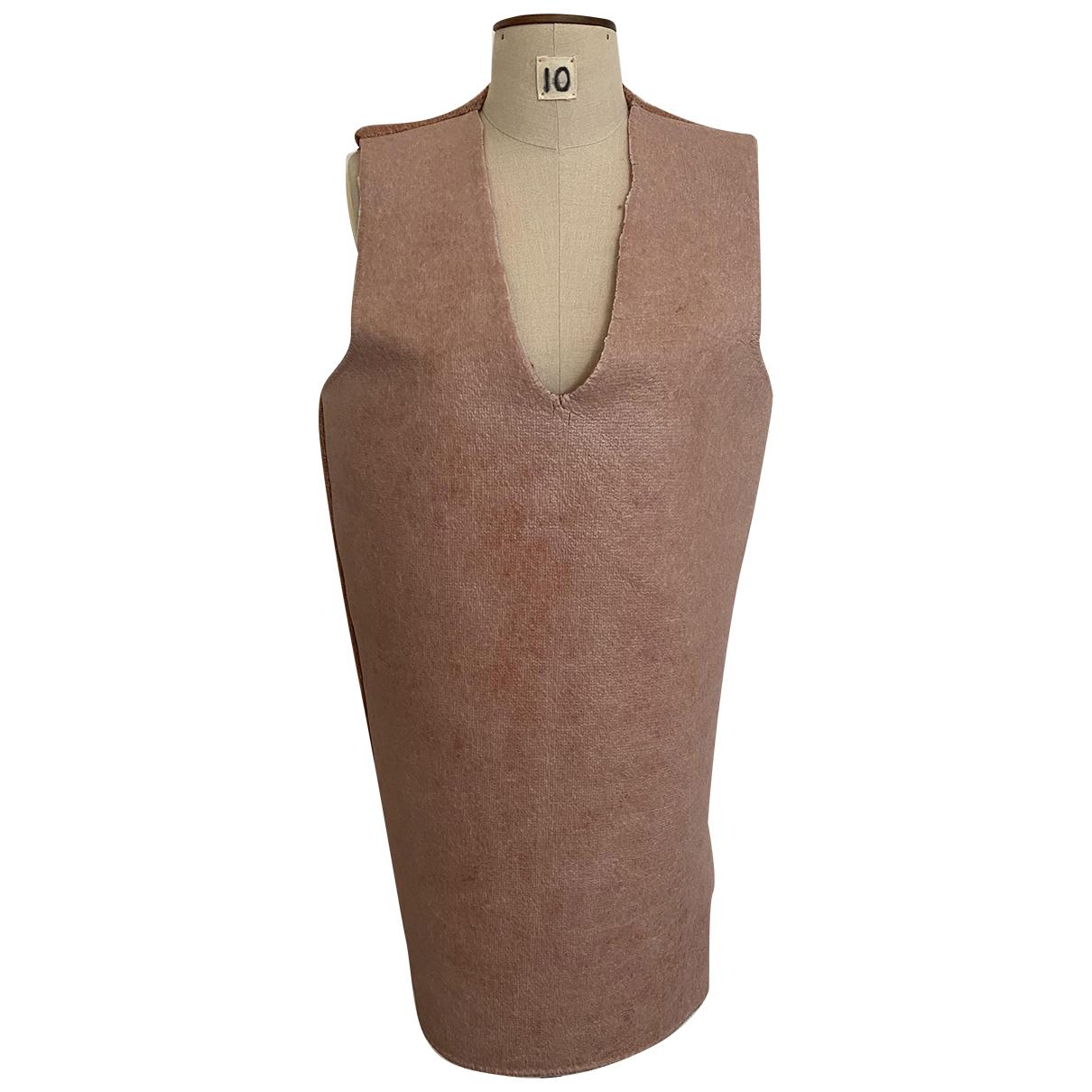 Mm6 \N Kleid in  Rosa Wolle