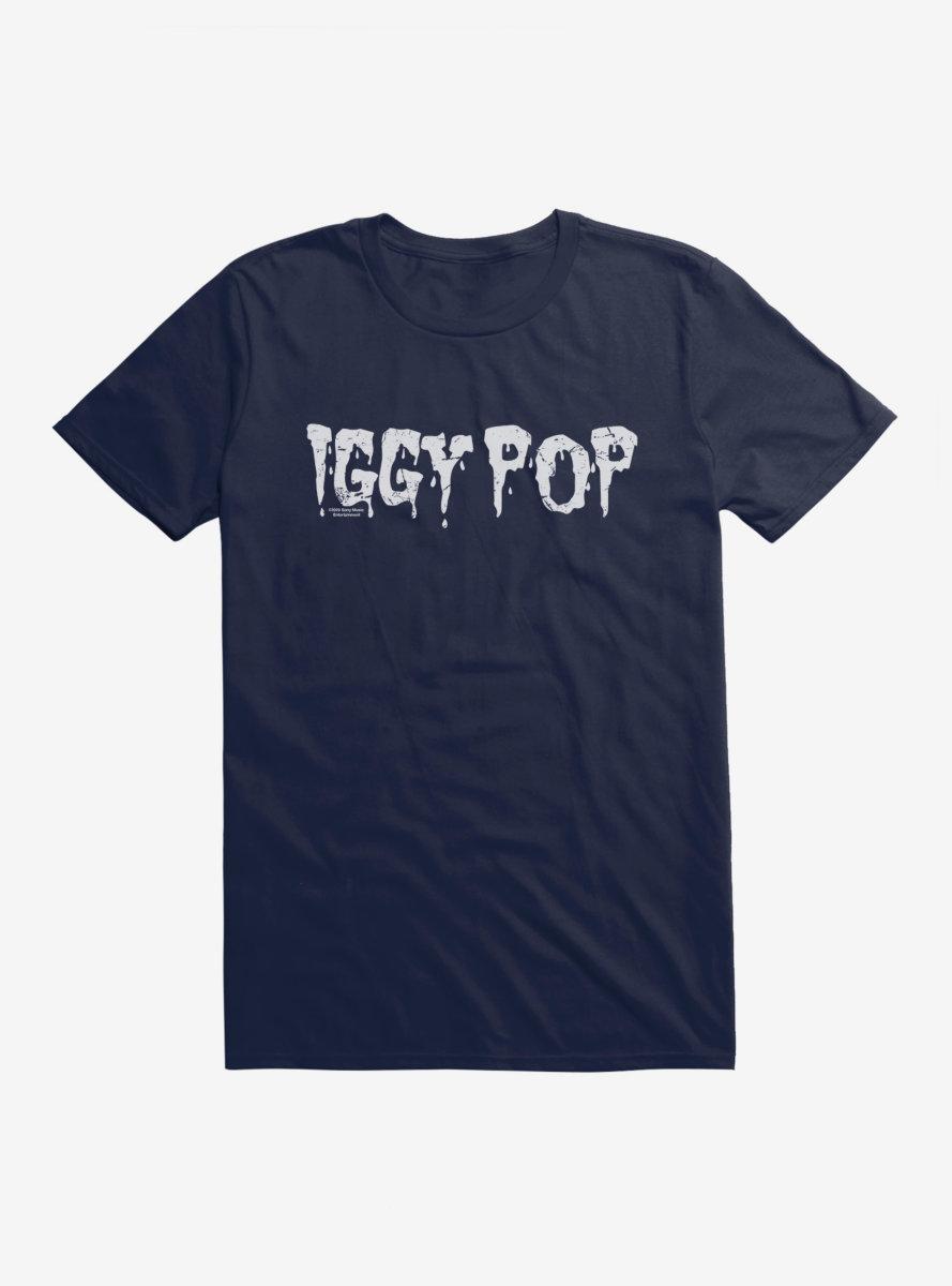 Iggy Pop Font Letters T-Shirt