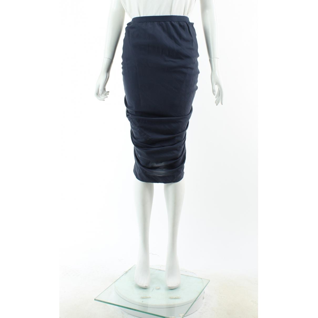 Falda de Seda Rick Owens