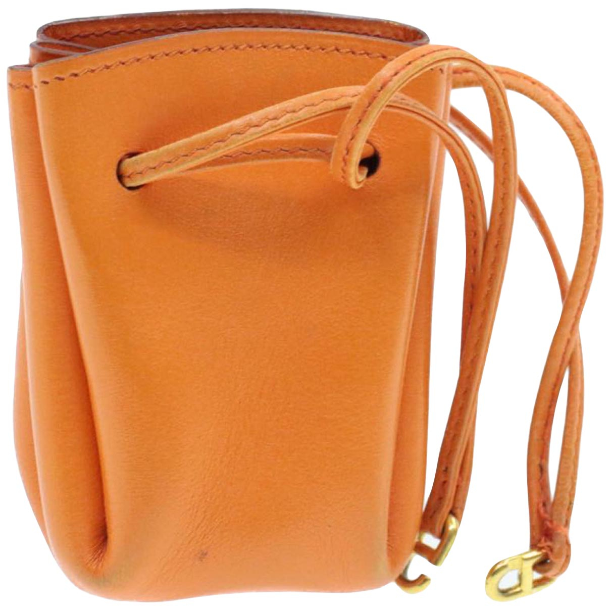 Hermes - Sac de voyage   pour femme en cuir - orange