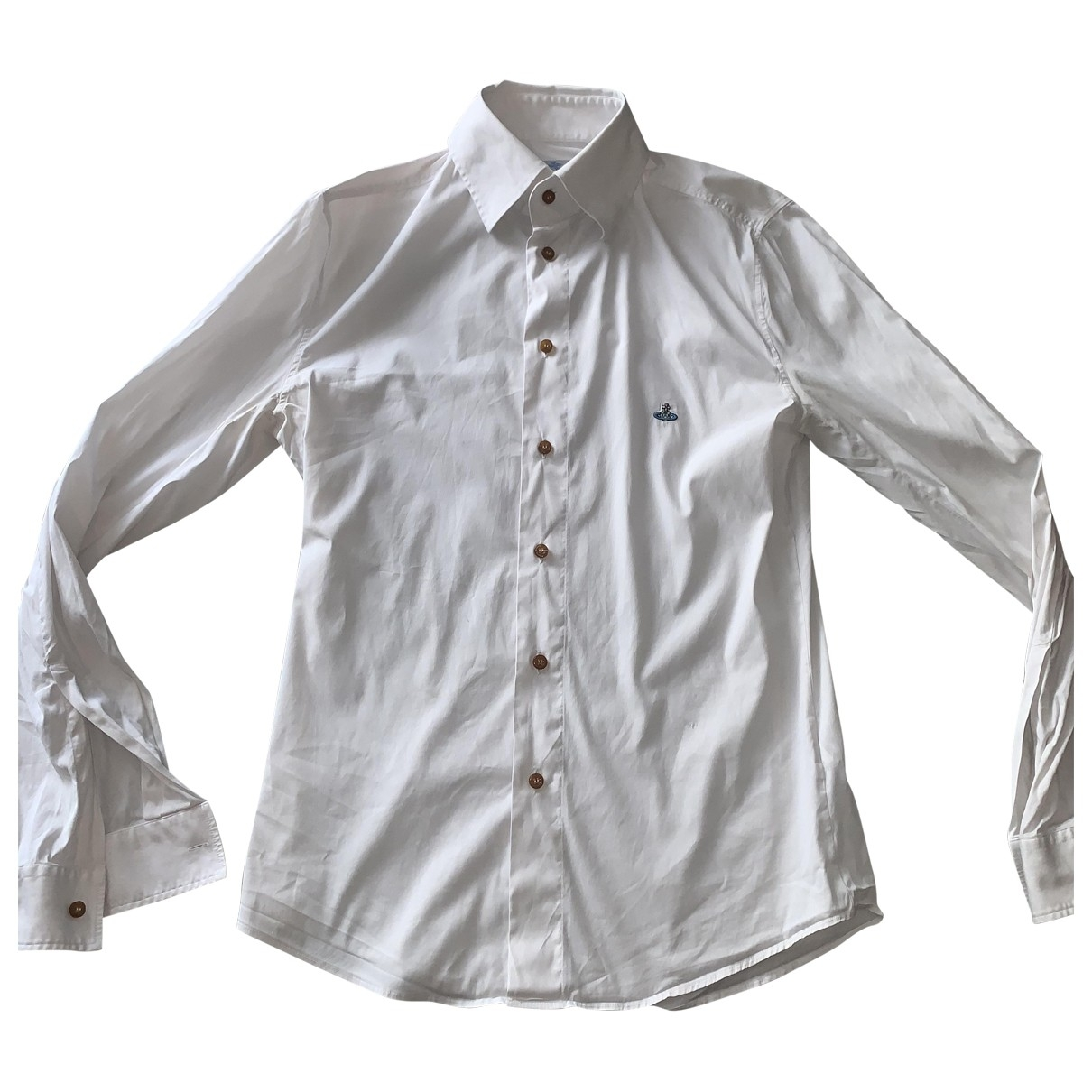 Vivienne Westwood \N White Cotton Shirts for Men M International