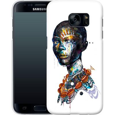 Samsung Galaxy S7 Smartphone Huelle - Zebra von Minjae Lee