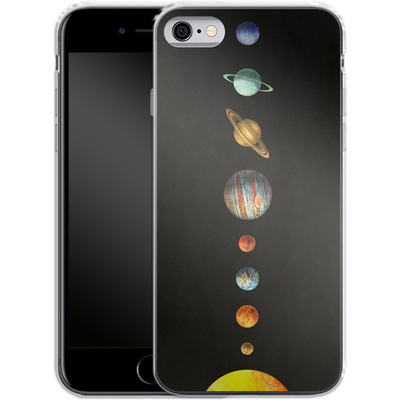 Apple iPhone 6 Silikon Handyhuelle - Solar System von Terry Fan