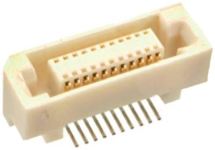 HARWIN , M60, 20 Way, 2 Row, Straight PCB Header