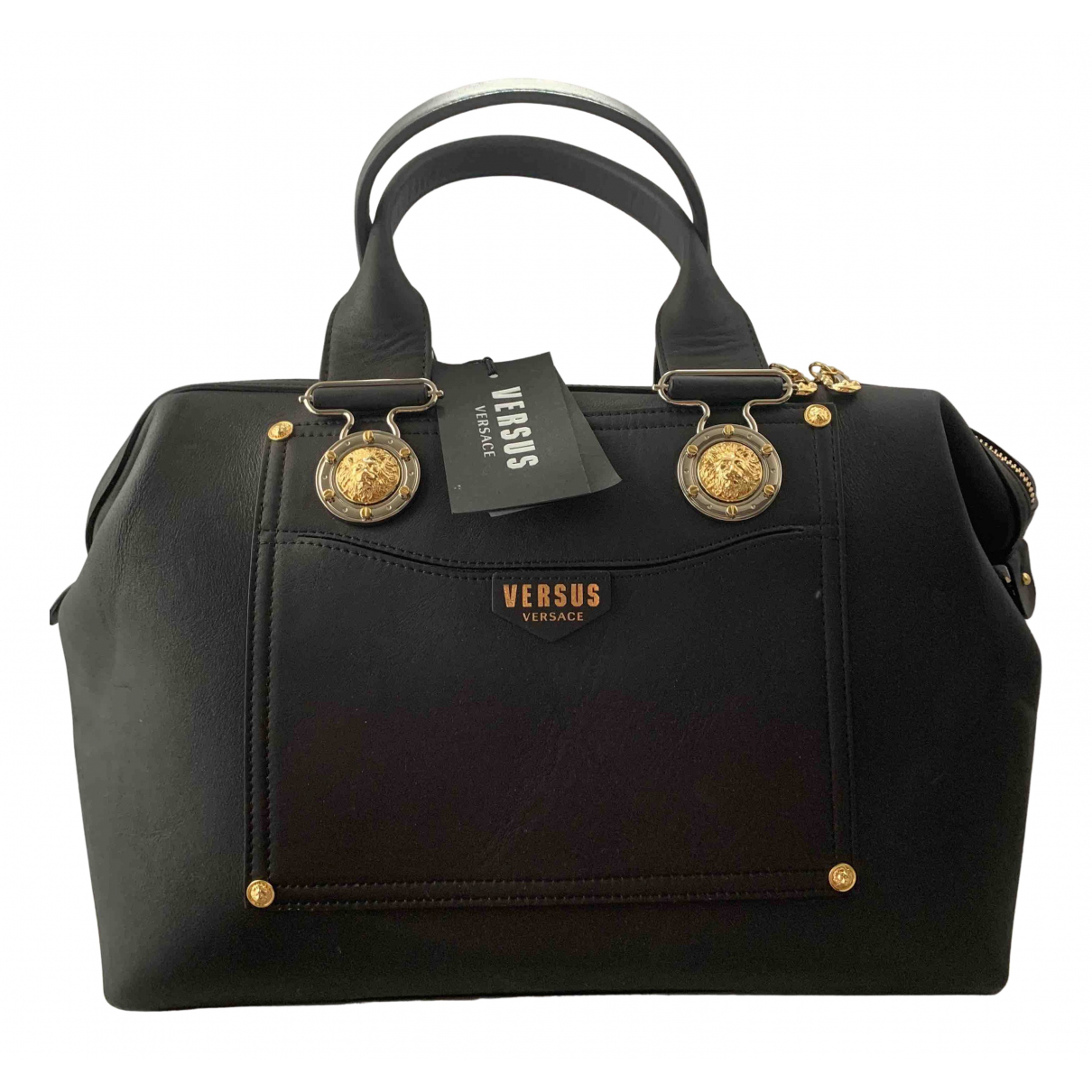 Versus \N Black Leather handbag for Women \N