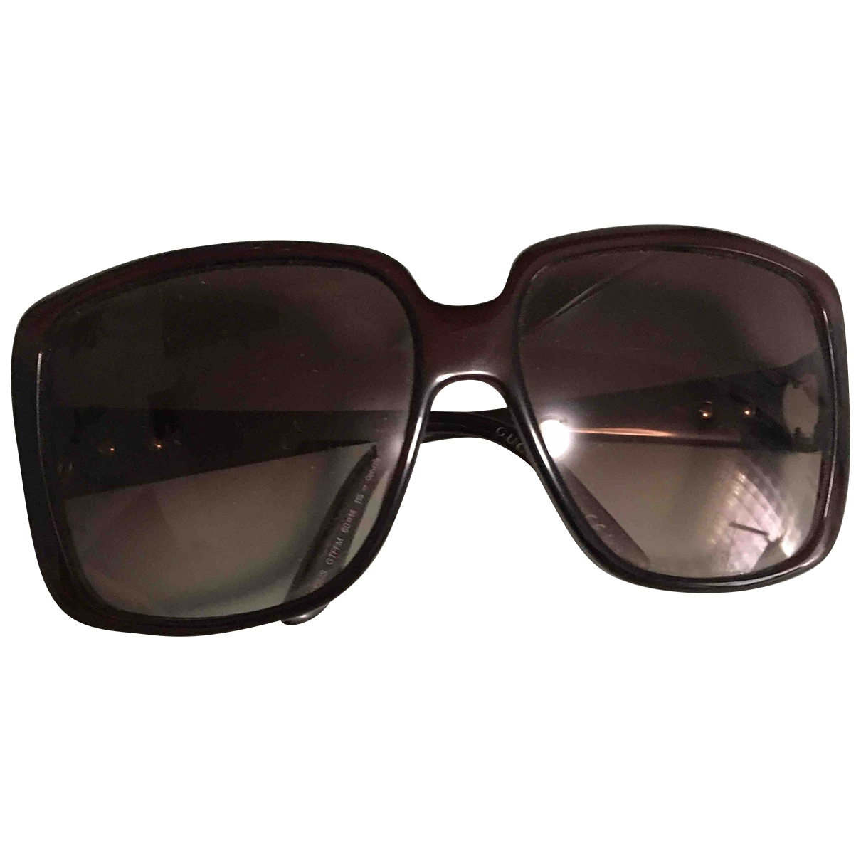Gucci \N Burgundy Sunglasses for Women \N