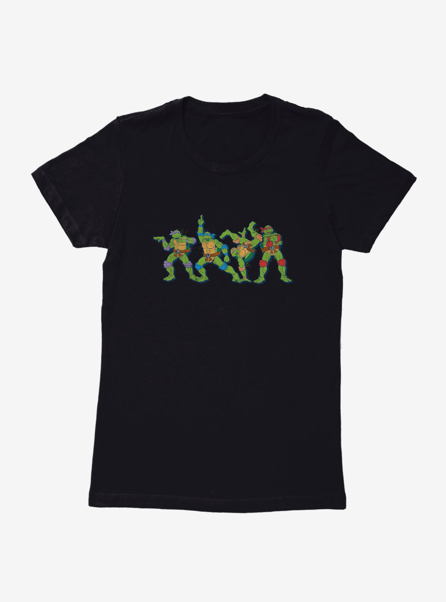 Teenage Mutant Ninja Turtles Joking Around Womens T-Shirt