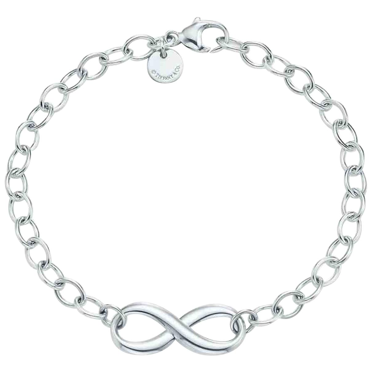 Tiffany & Co Tiffany Infinity Silver Silver bracelet for Women \N