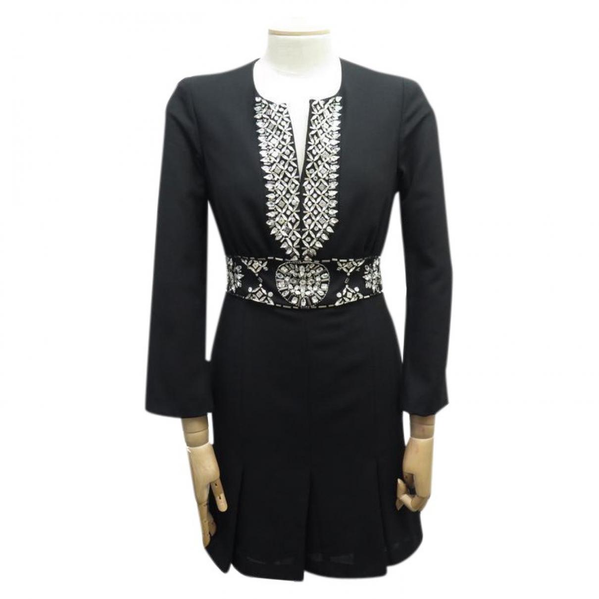 Azzaro - Robe   pour femme en laine - noir