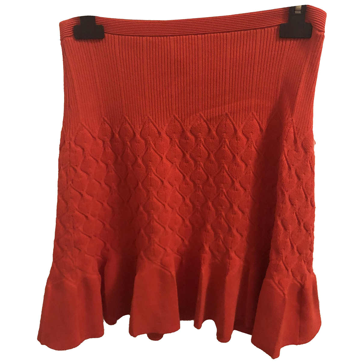 Sandro \N Red skirt for Women 2 0-5